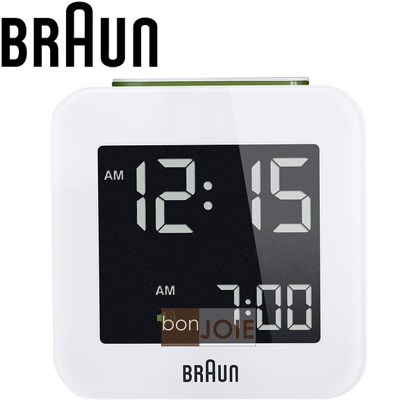 ::bonJOIE:: 美國進口 Braun BNC008 Alarm Clock 百靈數位鬧鐘 (白色款)(全新盒裝) 博朗 時鐘 德國