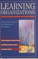 二手書博民逛書店《Learning Organizations: Developing Cultures for Tomorrow s Workplace》 R2Y ISBN:1563271109