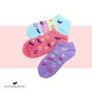 小花船型襪3入組【AG6201】