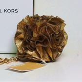 [情人節限定] MICHAEL KORS 黃金玫瑰鑰匙吊飾