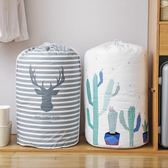 【2個】衣櫃收納袋家用打包袋防潮防水棉被袋束口整理袋極簡生活館