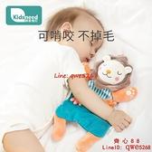 安撫巾嬰兒可入口安撫玩偶寶寶睡覺神器抱睡毛絨玩具手偶【齊心88】