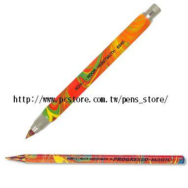 捷克製KOH-I-NOR 彩虹多彩5.6mm速繪筆+3支入速繪筆芯*5340