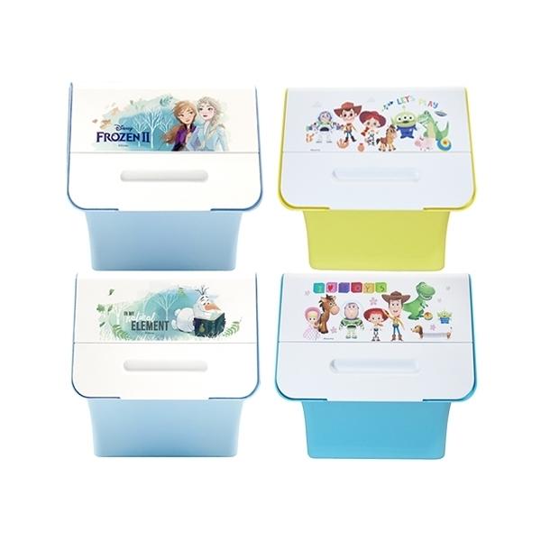 Disney 迪士尼 塑膠收納箱(2入) 款式可選【小三美日】※限宅配/無貨到付款/禁空運