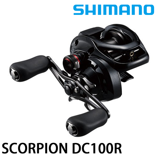 漁拓釣具 SHIMANO 17 SCORPION DC 100/101HG [兩軸捲線器]