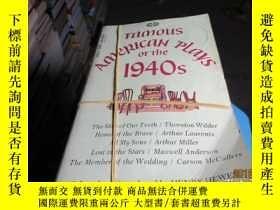 二手書博民逛書店famous罕見american plays 3081Y1963