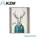 【KAZMI 韓國 KZM 麋鹿先生萬用毯1.8kg】K21T3Z09/蓋毯/地墊/野餐墊/登山露營