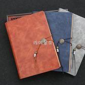 筆記本 商務筆記本文具中國風活頁辦公會議復古記事本厚工作日記本子 珍妮寶貝