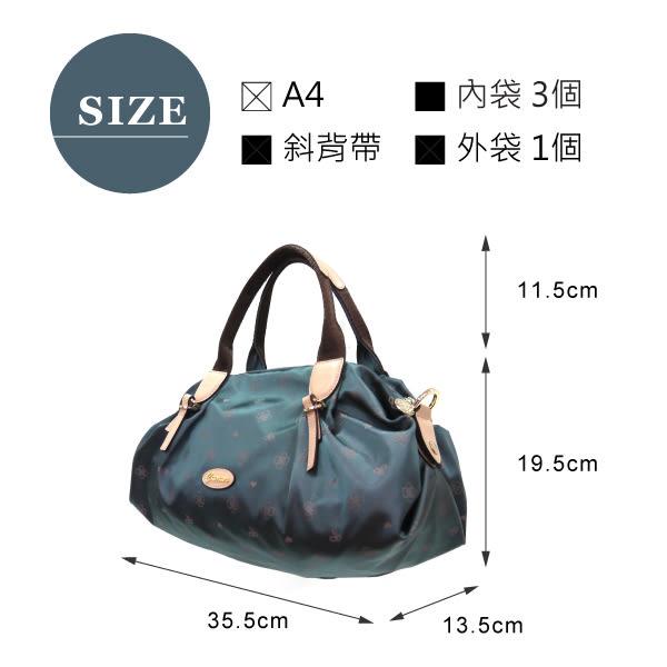 【CUMAR女包】LOGO緹花輕量防潑水水餃包-灰