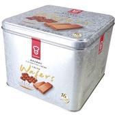 香港嘉頓威化餅巧克力43gx16