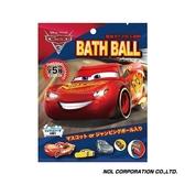 日本NOL CARS汽車總動員3泡澡球: 閃電再起(包裝採隨機出貨)NOL689560[衛立兒生活館]