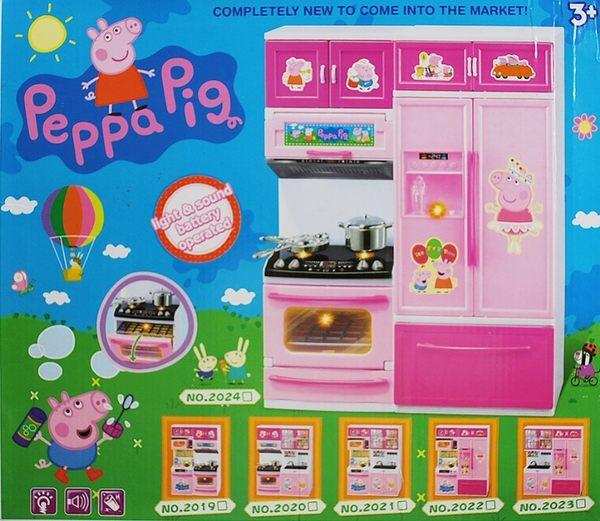粉紅豬小妹 仿真廚房玩具組