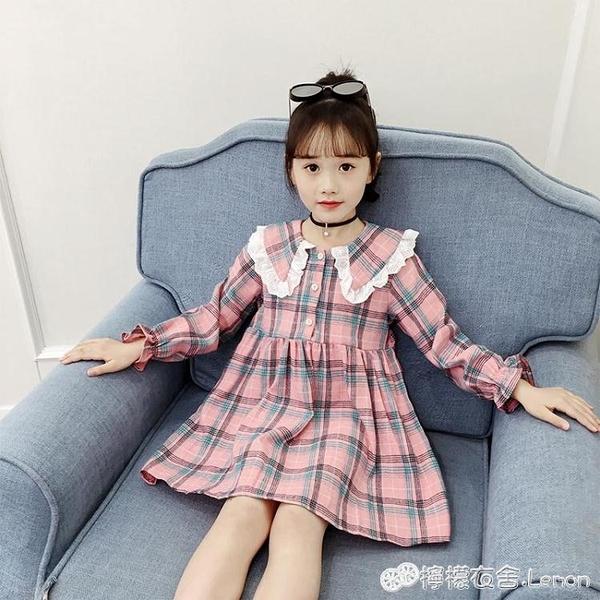 女童洋裝 女童洋裝春裝新款兒童潮秋裝中大童裙子衣服洋氣韓版公主裙