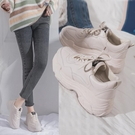 老爹鞋 女鞋單鞋新款夏老爹鞋女百搭休閒學生白鞋春秋運動鞋-Ballet朵朵