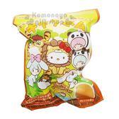 〔小禮堂〕Sanrio大集合 造型入浴球《6款隨機.綠.動物》入浴劑.泡澡球 4901610-84012