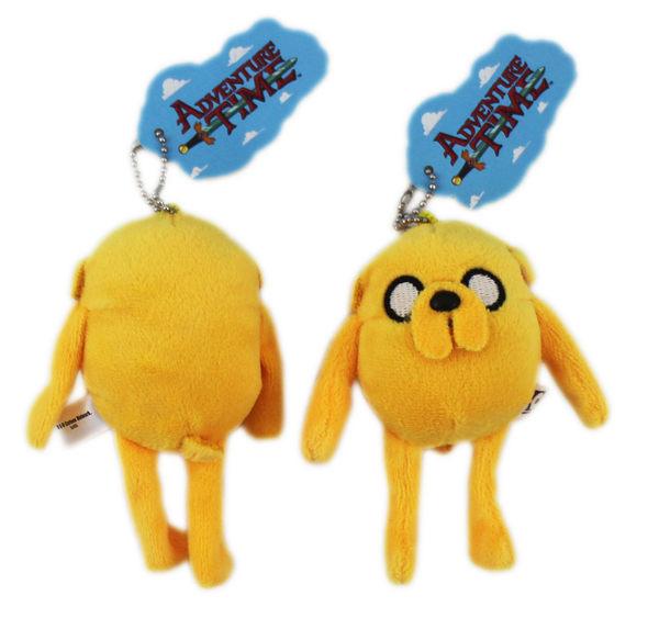 【卡漫城】 老皮 迷你 絨毛 娃娃 12cm ㊣版 探險活寶 吊飾 鍊子 Adventure Time 玩偶 鑰匙圈