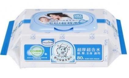 ✔限量加贈沙棘滋潤乳液30ml*1✔【貝恩 BAAN】 嬰兒保養柔濕巾-無香料80抽x24包(箱購)