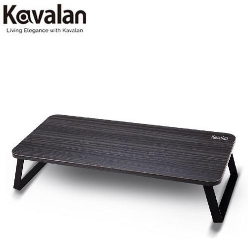 Kavalan 金屬螢幕增高架 (黑柚木)