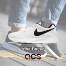 Nike 休閒鞋 Wmns Tanjun 白 黑 白底黑勾 百搭 基本款 運動鞋 女鞋【ACS】 812655-100