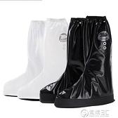 正雨男女高筒防雨鞋套防水雨天防滑騎行摩托車鞋套加厚電動車鞋套