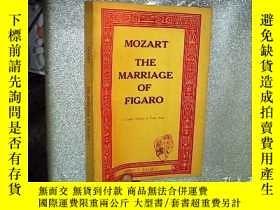 二手書博民逛書店THE罕見MARRIAGE OF FIGARO 費加羅的婚姻 1