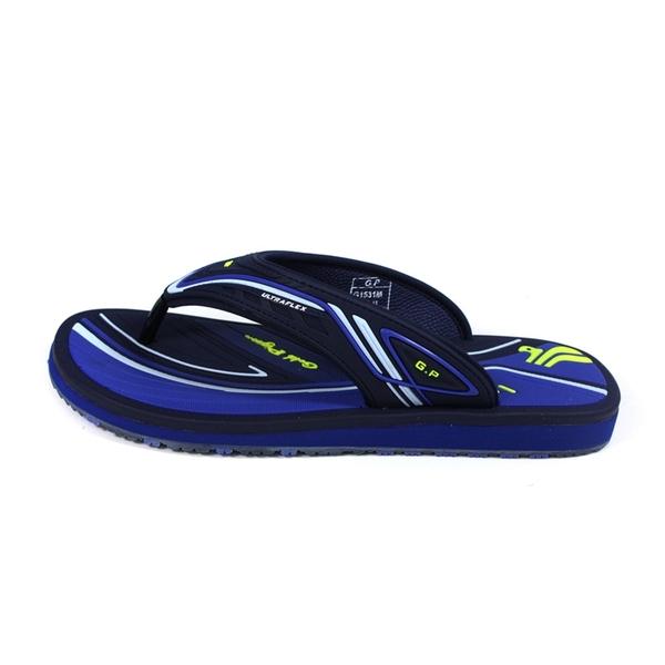 G.P (GOLD PIGEON) 阿亮代言 夾腳拖鞋 人字拖 深藍色 男鞋 G1531M-20 no530