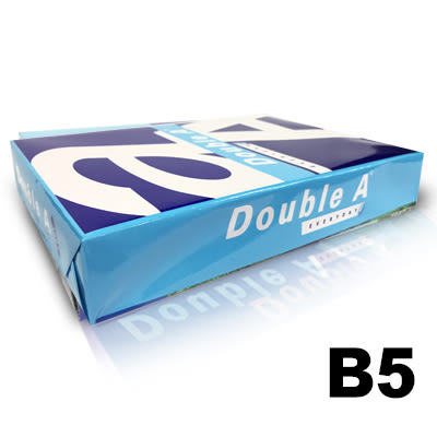 Double A B5 70gsm雷射噴墨白色影印紙500入