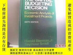 二手書博民逛書店The罕見Capital Budgeting Decision資