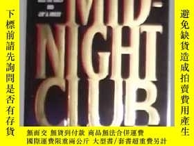 二手書博民逛書店英文原版罕見The Midnight Club by James