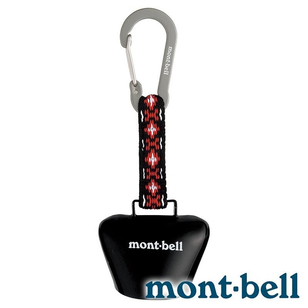 『VENUM旗艦店』【mont-bell】TREKKING BELL SQUARE牟鈴鉤環『BK 黑』1124847