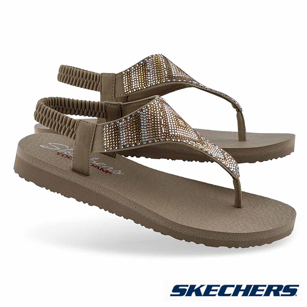 SKECHERS MEDITATION GYSPY GLAM 涼鞋 - 31769TPMT