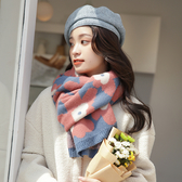 圍巾 女冬季泫雅風ins韓版日系百搭軟妹小清新學生針織毛線圍脖潮