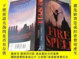 二手書博民逛書店fire罕見spell火咒Y200392