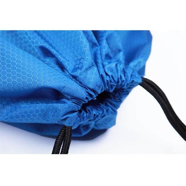 運動抽繩背包防水束口袋後背包拉繩包 韓國時尚週