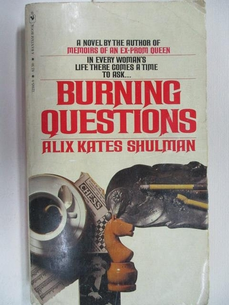 【書寶二手書T1/原文小說_AFP】Burning Questions_Aliz Kates Shulman
