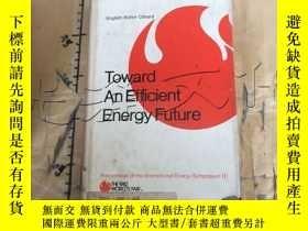 二手書博民逛書店Toward罕見an efficient energy futu