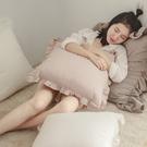 抱枕 單入【法式花邊】M 50x50cm...