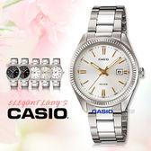 CASIO 卡西歐 手錶專賣店 LTP-1302D-7A2 不繡鋼錶帶 女錶 白面金丁字 礦物玻璃 三折錶帶 日期