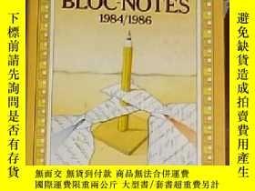 二手書博民逛書店意大利語原版罕見Bloc-Notes 1984 1986 di