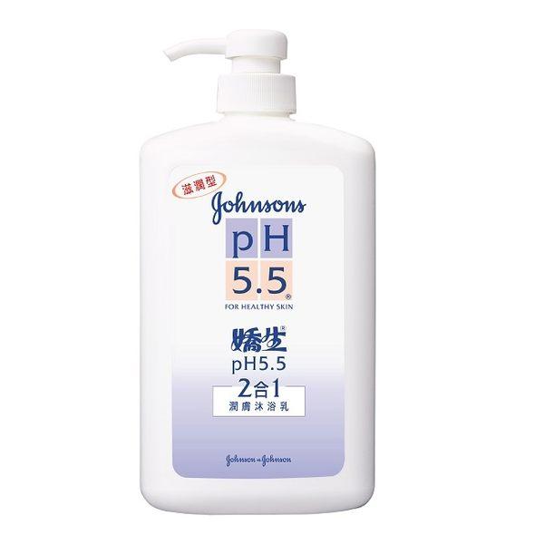 pH5.5 二合一潤膚沐浴乳 1000ml