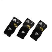 【三雙一組】adidas 襪子 黑 白 透氣 舒適 基本款 休閒 中筒襪 運動襪【PUMP306】 615663_3