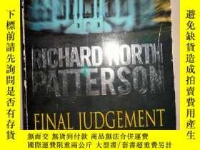 二手書博民逛書店RICHARD罕見NORTH PATTERSON FINAL JUDGEMENT THE OUTSIDE MAN(