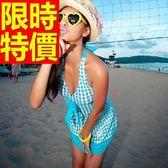 連身泳衣 泳裝-音樂祭游泳泡湯必備比基尼爆乳氣質女神2色56j3【時尚巴黎】
