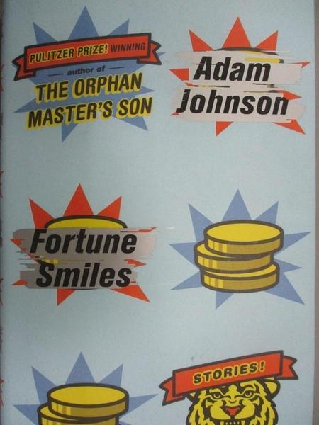 【書寶二手書T5/原文小說_OOE】Fortune Smiles_Johnson, Adam