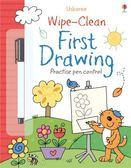 Wipe-Clean First Drawing Practise Pen Control 可擦拭練習本:描描看