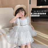 童裝2021春夏裝新款女童網紅兒童仙女洋裝寶寶洋氣公主裙子潮 幸福第一站