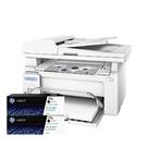 【搭CF217A原廠碳粉匣二支】HP LaserJet Pro M130fn 黑白雷射傳真複合機印表機