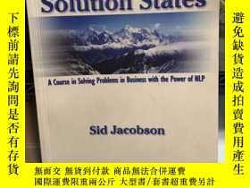 二手書博民逛書店Solution罕見States: A Course in So