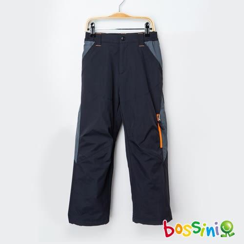 (網路款)多功能防風雪褲黑-bossini男童