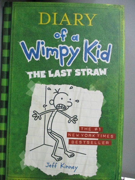 【書寶二手書T8/原文小說_OOO】Diary of a Wimpy Kid:The Last Straw_Kinney